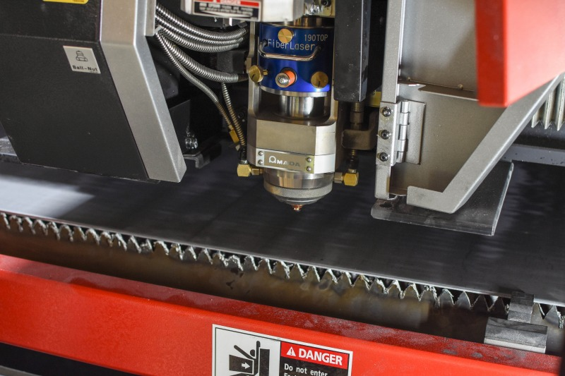 This Is A Photo Of A Precision Laser Cutter At AG Miller Co.