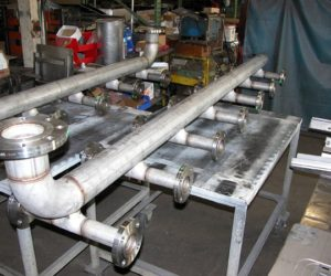 This Is A Photo Of A Stainless Steel Manifold Designed By AG Miller Co.