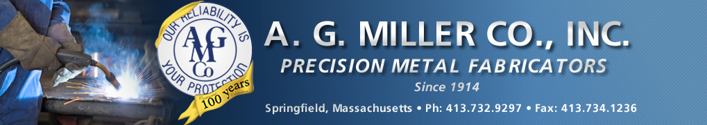 This is a photo of the AG Miller Company header