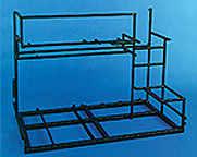 This is a photo of a medical test frame designed by AG Miller Co