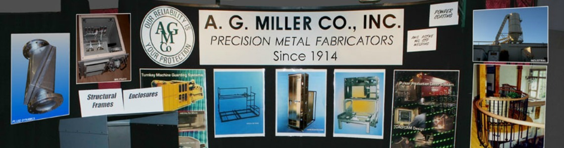 This is a photo of an AG Miller stand at a tradeshow