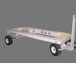 This Is A Photo Of A Ground Support Trailer Base