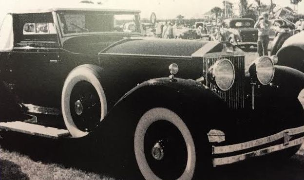 This is a photo of a vintage Rolls Royce